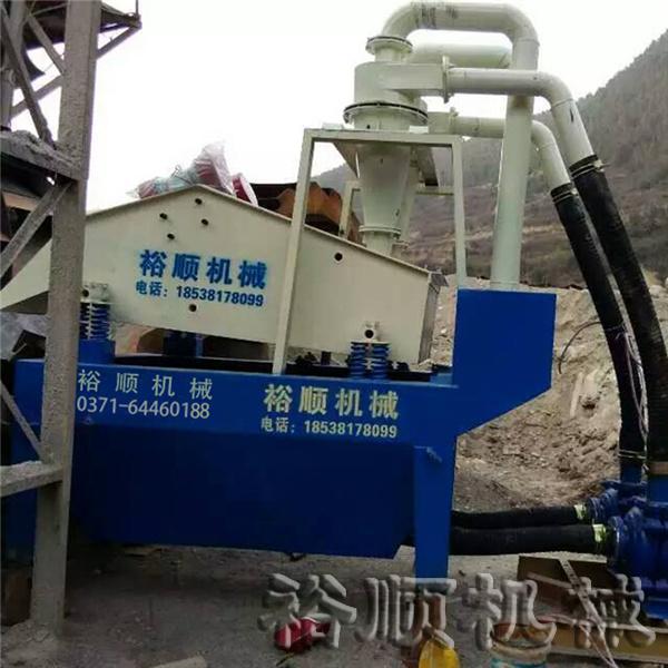 细砂回收机案例一