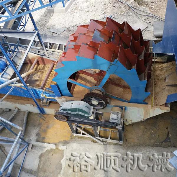 轮斗式洗砂机案例二